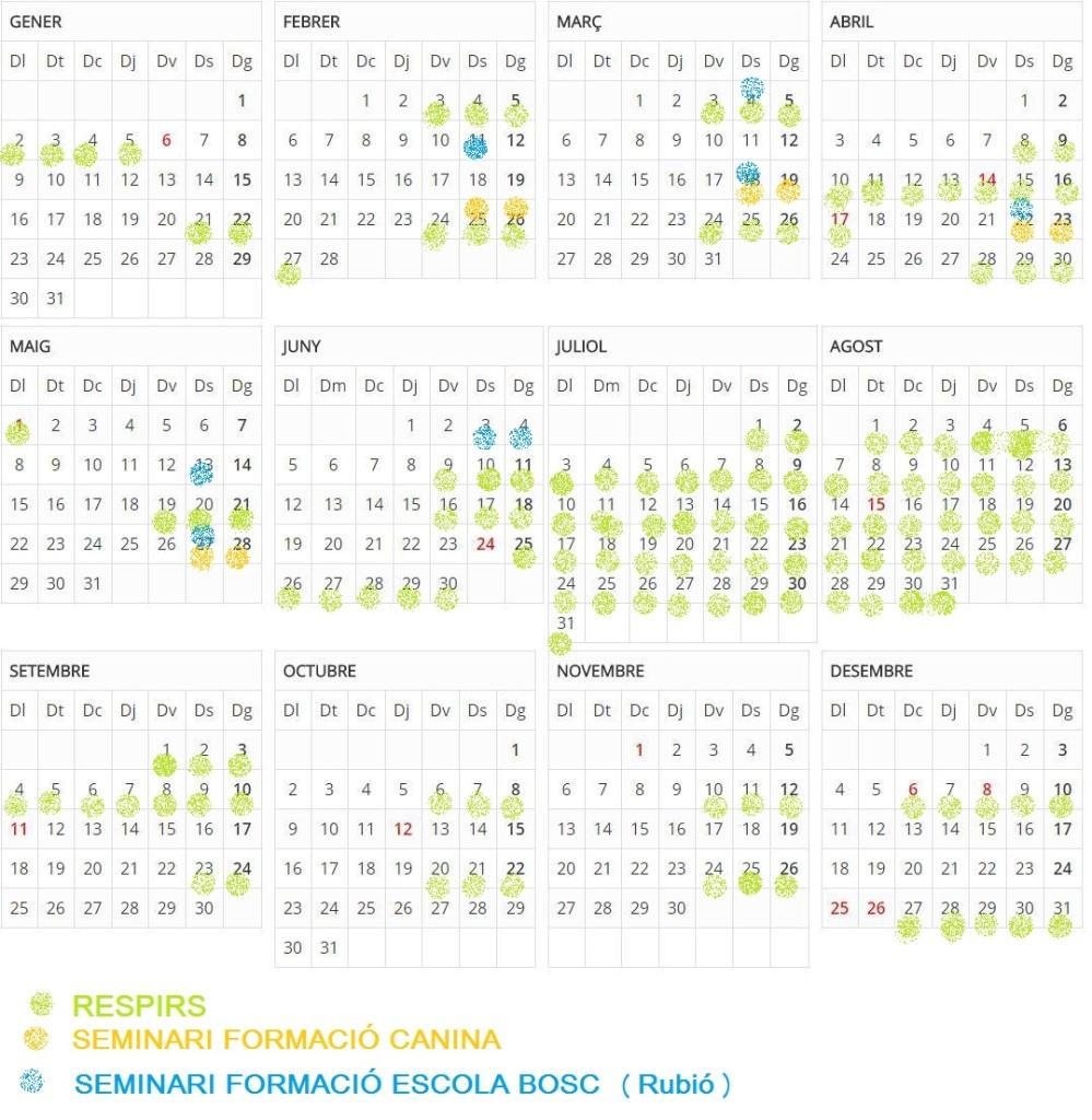 calendari total auro